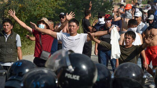 Kırgızistan'da protestolar - Sputnik Türkiye