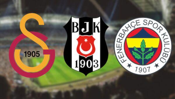 Galatasaray, Fenerbahçe, Beşiktaş - Sputnik Türkiye