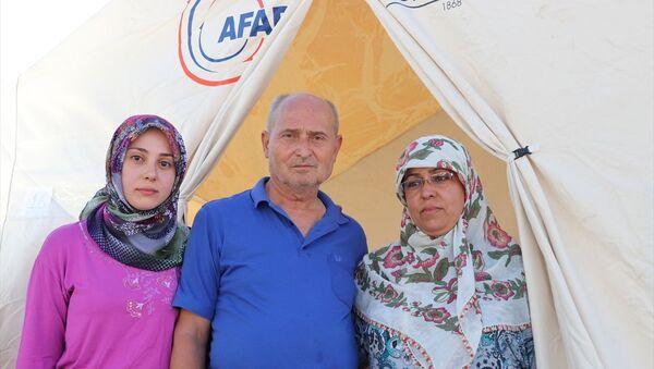 Depremzedeler bayramı çadırlarında karşılayacak - Sputnik Türkiye