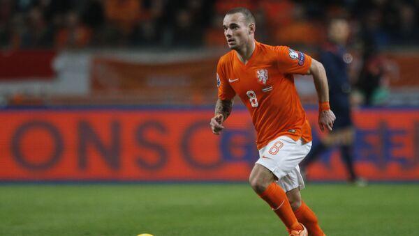 Hollandalı futbolcu Wesley Sneijder - Sputnik Türkiye