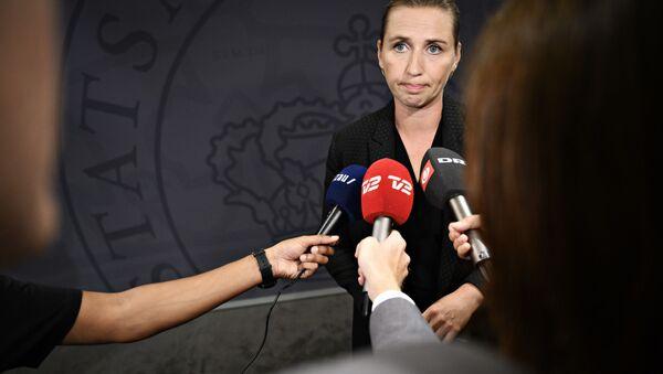 Danimarka Başbakanı Mette Frederiksen - Sputnik Türkiye