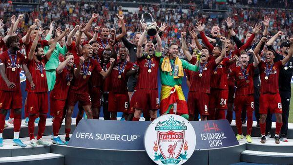 Liverpool-Chelsea karşılaşması sona erdi: Kupa Liverpool'un - Sputnik Türkiye