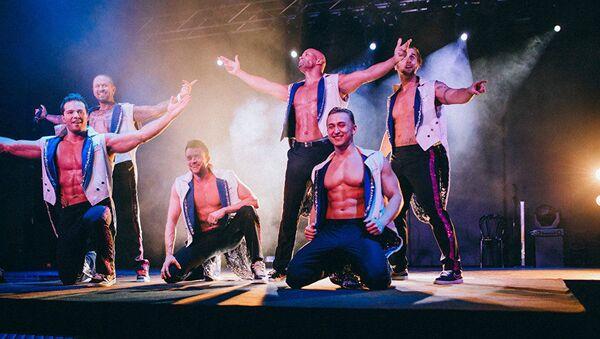İskandinavya'dan bir erkek striptiz grubu - Sputnik Türkiye