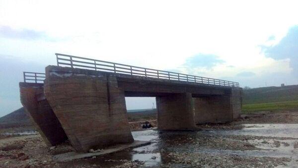 Bismil ile Savur ilçeleri arasında yapılan köprü - Sputnik Türkiye
