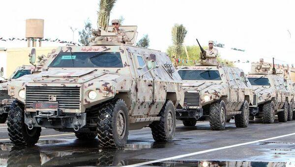 Halife Hafter komutasında Libya Ulusal Ordusu (LUO) - Sputnik Türkiye