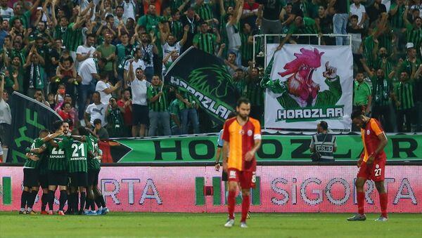 Üç kupalı şampiyon Galatasaray, sezonun açılış maçında kayıpla başladı - Sputnik Türkiye