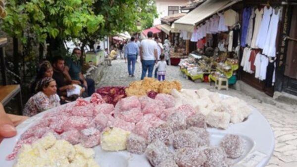 Safranbolu'da dükkan önünde lokum ikramına yasak - Sputnik Türkiye
