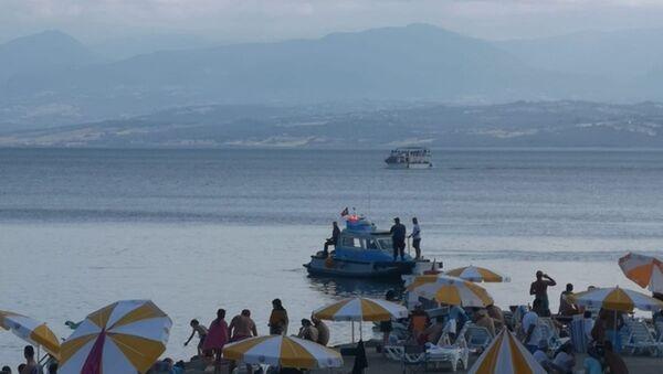 Sinop'ta denizde 'kopmuş insan bacağı' iddiası araştırılıyor - Sputnik Türkiye