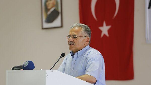 Kayseri Büyükşehir Belediye Başkanı Memduh Büyükkılıç - Sputnik Türkiye