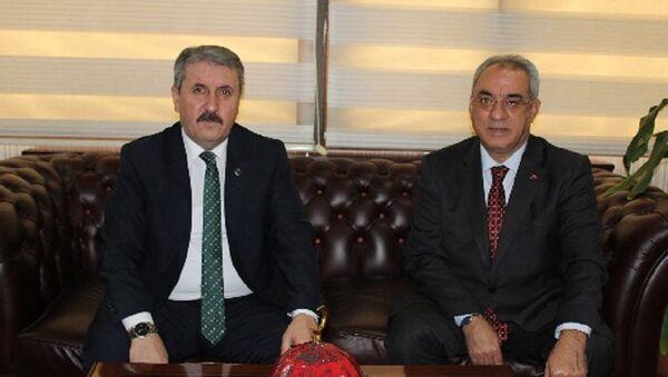 Mustafa Destici, Önder Aksakal - Sputnik Türkiye