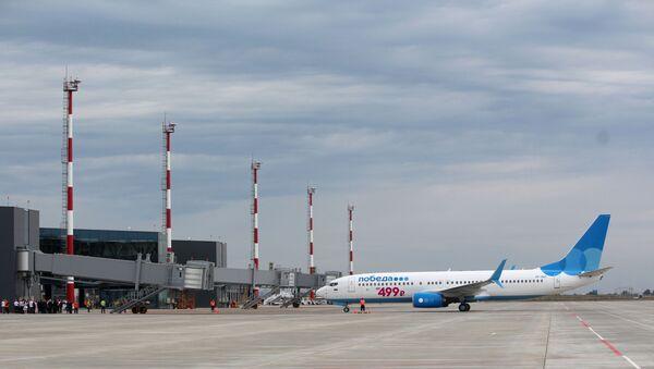 Türk inşaat şirketi Esta Construction'ın inşa ettiği Saratov'daki yeni Gagarin Havalimanı - Sputnik Türkiye