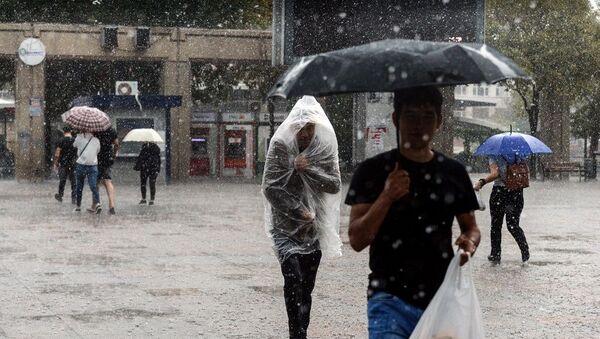 İstanbul yağmur - Sputnik Türkiye