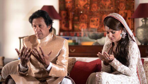 Pakistan Başbakanı İmran Han ve eski eşi Reham Han - Sputnik Türkiye