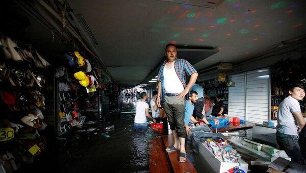 İstanbul, sel, yağmur, su baskını - Sputnik Türkiye