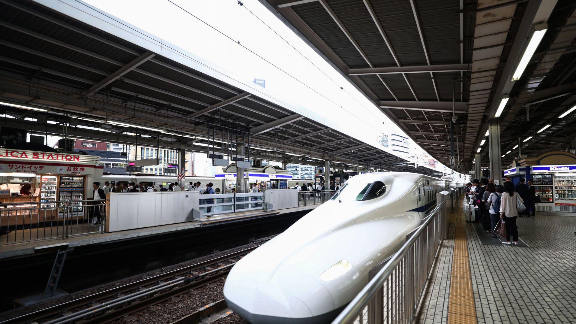 Japonya hızlı tren - Sputnik Türkiye, 1920, 21.05.2021