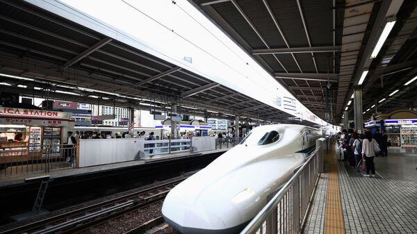 Japonya hızlı tren - Sputnik Türkiye