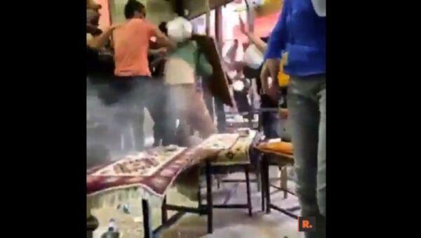Van'da kayyum protestosuna polis şiddeti - Sputnik Türkiye