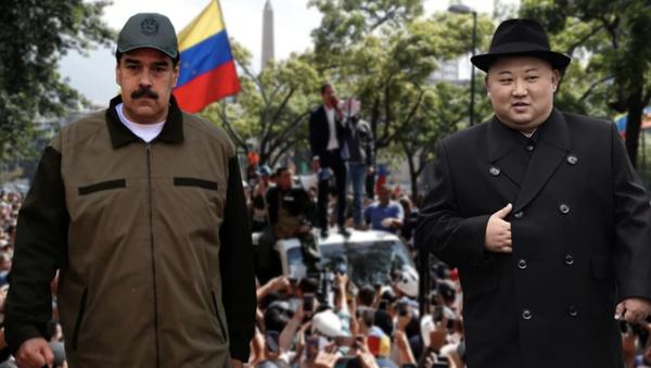 Maduro ile Kim Jong-un - Sputnik Türkiye