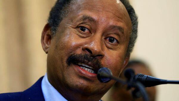 Sudan geçiş dönemi başbakanı Abdullah Hamadok - Sputnik Türkiye