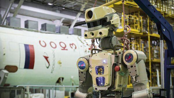Rusya'nın uzaya gönderdiği ilk insansı robot FEDOR - Sputnik Türkiye