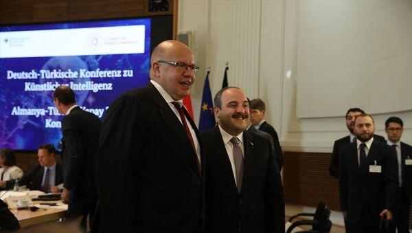 Almanya-Türkiye Yapay Zeka Konferansı, Mustafa Varank - Sputnik Türkiye
