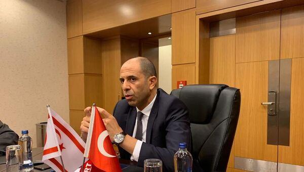 Kuzey Kıbrıs Başbakan Yardımcısı ve Dışişleri Bakanı Kudret Özersay - Sputnik Türkiye