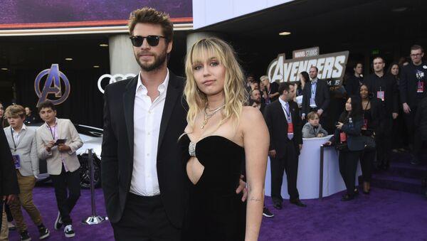 Miley Cyrus-Liam Hemsworth - Sputnik Türkiye