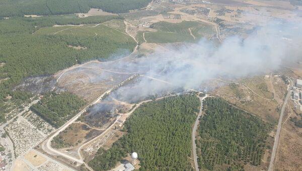 İzmir - Gaziemir - yangın - Sputnik Türkiye