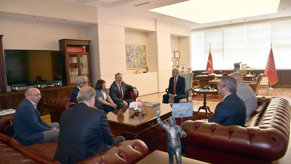 Kemal Kılıçdaroğlu - Sezai Temelli - Mithat Sancar - Sputnik Türkiye