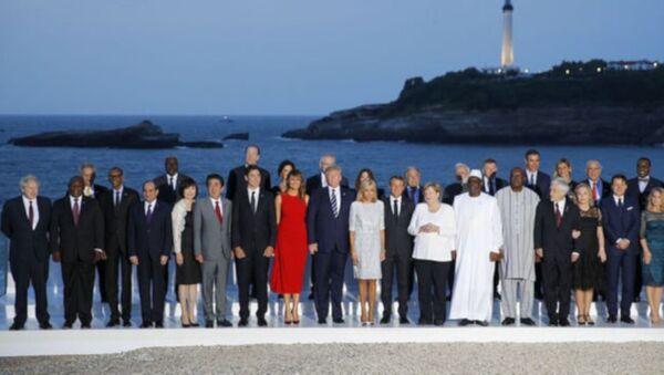 G7 Zirvesi sonuç bildirgesi açıklandı - Sputnik Türkiye