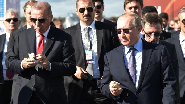 Recep Tayyip Erdoğan- Vladimir Putin - Sputnik Türkiye