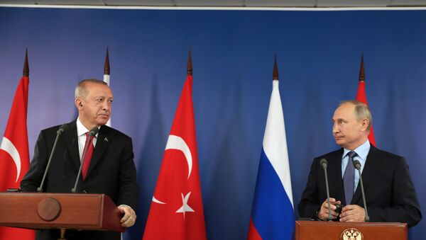 Recep Tayyip Erdoğan - Vladimit Putin - Sputnik Türkiye