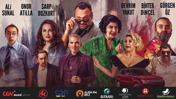 'Hareket Sekiz' filmi afişi - Sputnik Türkiye