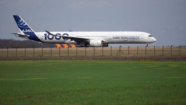Airbus A350-1000 - Sputnik Türkiye