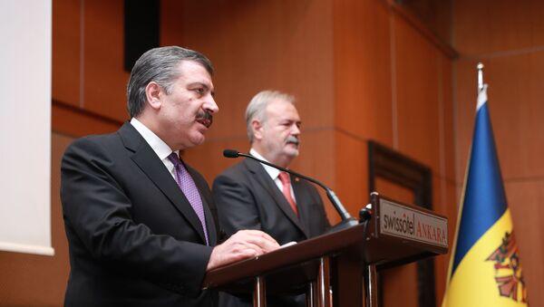Sağlık Bakanı Fahrettin Koca, Moldova - Sputnik Türkiye