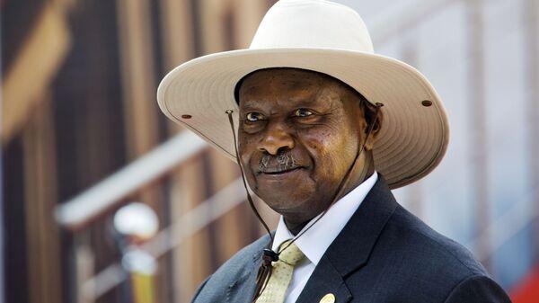 Yoweri Museveni - Sputnik Türkiye