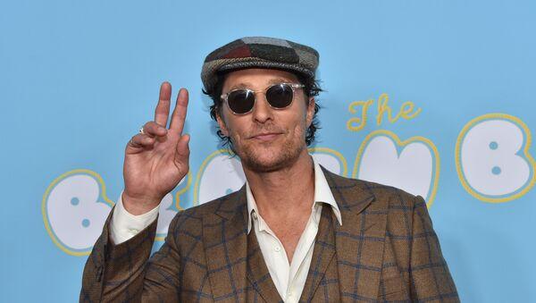 Aktör Matthew McConaughey - Sputnik Türkiye