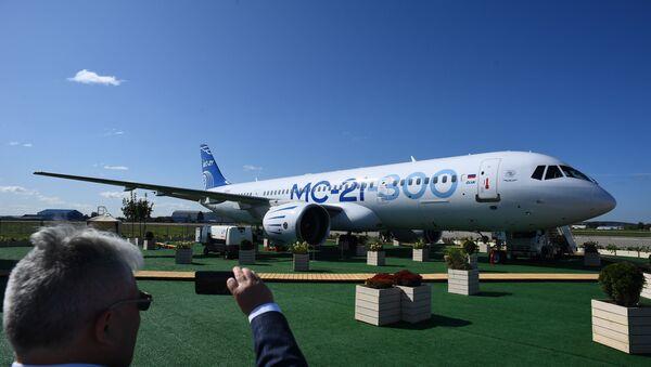 Rusya'nın orta menzilli yolcu uçağı MS-21 - Sputnik Türkiye