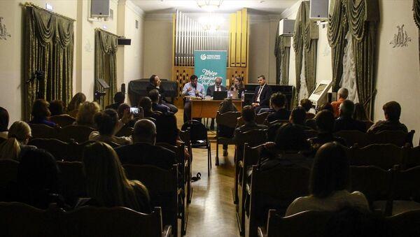 Moskova'da Türk Tasavvuf Düşüncesi ve Ney Hakkında Konuşmalar oturumu - Sputnik Türkiye