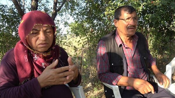 Emine Bulut'un annesi Fadime Bulut, babası Ahmet Bulut - Sputnik Türkiye
