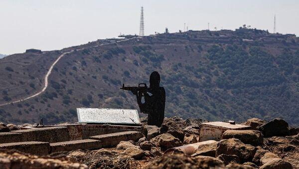 Golan Tepeleri - İsrail ordusu karakolu - Sputnik Türkiye