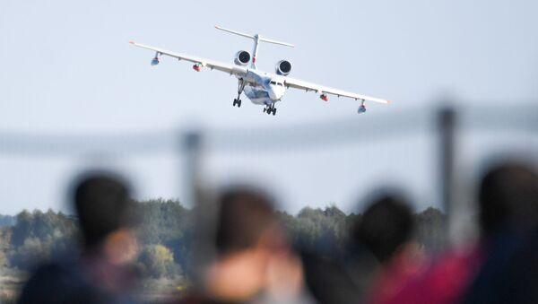 Uluslararası Havacılık Fuarı MAKS-2019 - Sputnik Türkiye