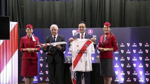 THY, River Plate'in forma sponsoru oldu - Sputnik Türkiye