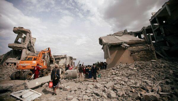 Suudi Arabistan, Yemen'de hapishaneye hava saldırısı düzenledi - Sputnik Türkiye