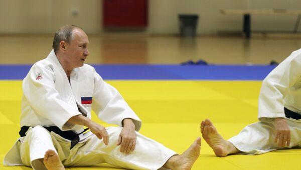 Vladimir Putin- Judo - Sputnik Türkiye