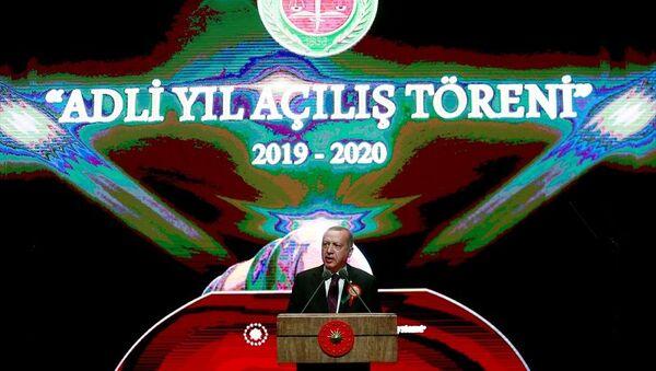 Cumhurbaşkanı Recep Tayyip Erdoğan,  Adli Yıl Açılış Töreni - Sputnik Türkiye