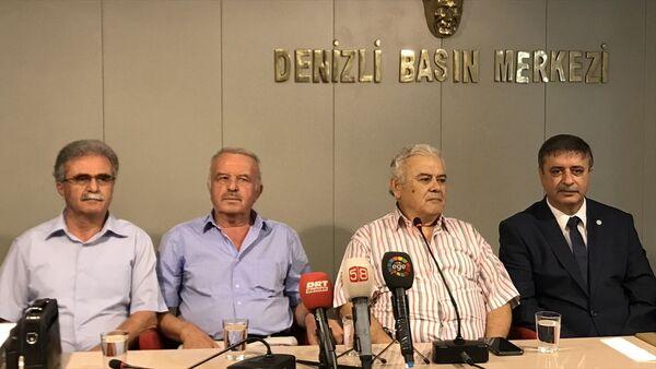 İYİ Parti Denizli il yönetimi - Sputnik Türkiye