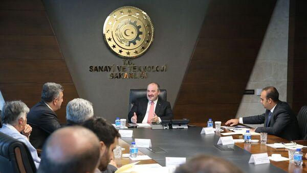 Türkiye Uzay Ajansı'nın ilk toplantısı - Sputnik Türkiye