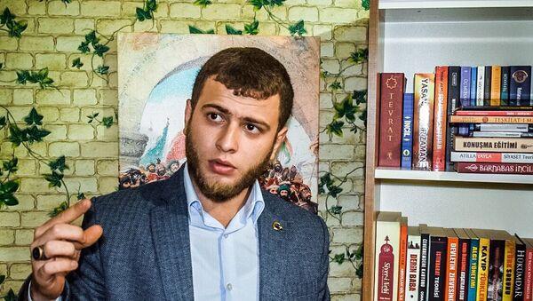 Genç İmam Hatipliler Derneği Genel Başkanı Muhammet Samet Akkaya - Sputnik Türkiye