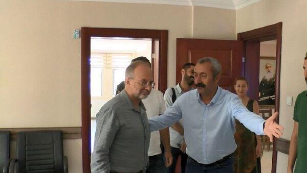 TKP Genel Sekreteri Kemal Okuyan, Tunceli Belediye Başkanı Fatih Mehmet Maçoğlu - Sputnik Türkiye